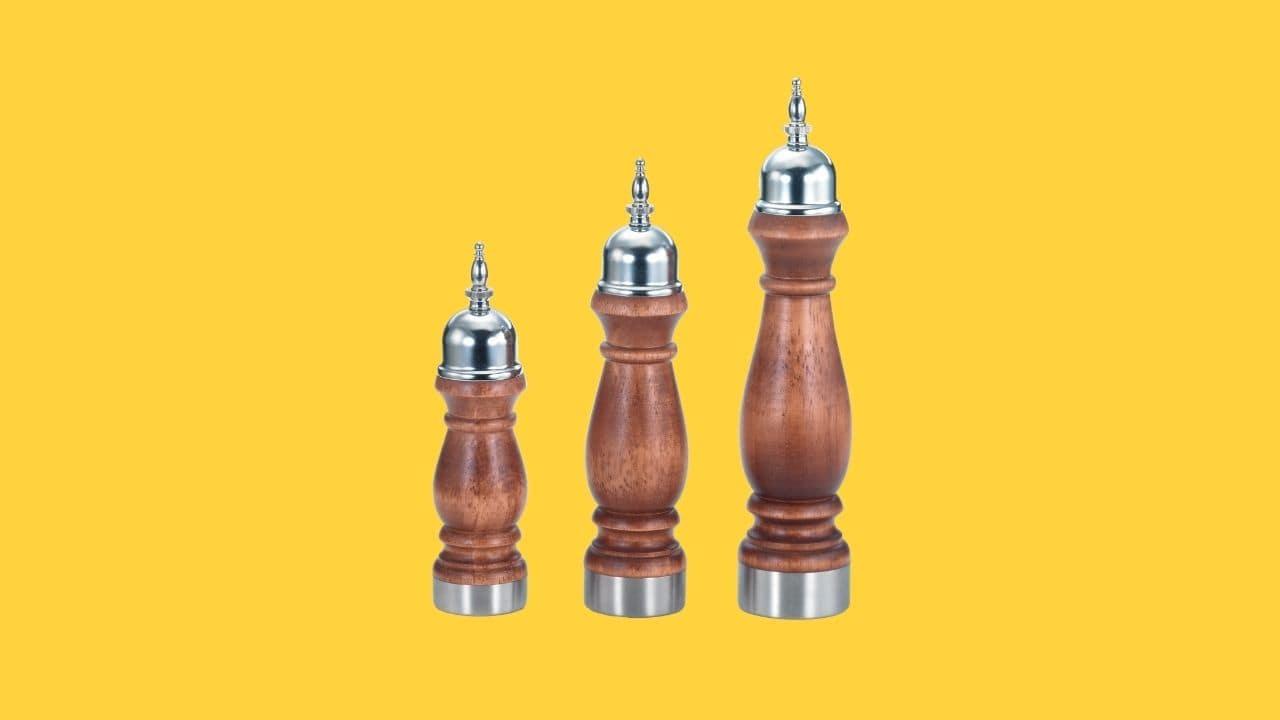 Holar HL-78 salt and pepper grinder-cover