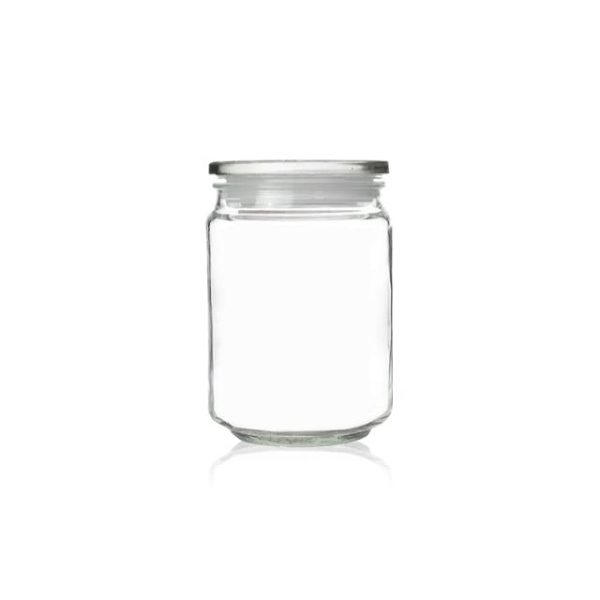 Holar - Kitchen Canister Series - Glass Jars Series - GCA-02 650 ml Glass Canister Container