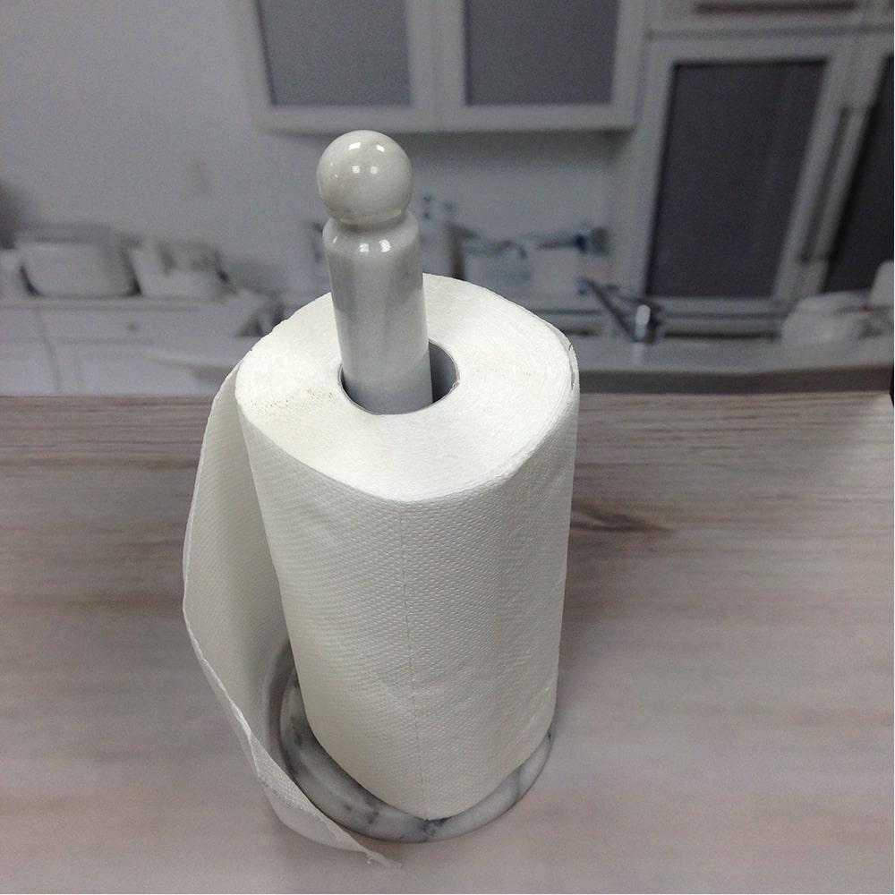 Holar MB-12 Marble Kitchen Paper Towel Holder-1