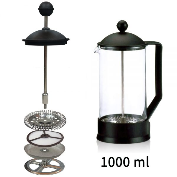 Holar PS-02 French Press Coffee Maker-1000ml
