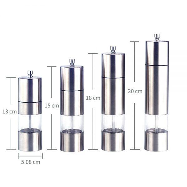 Holar SSA-03 Stainless Steel Pepper Mills-2