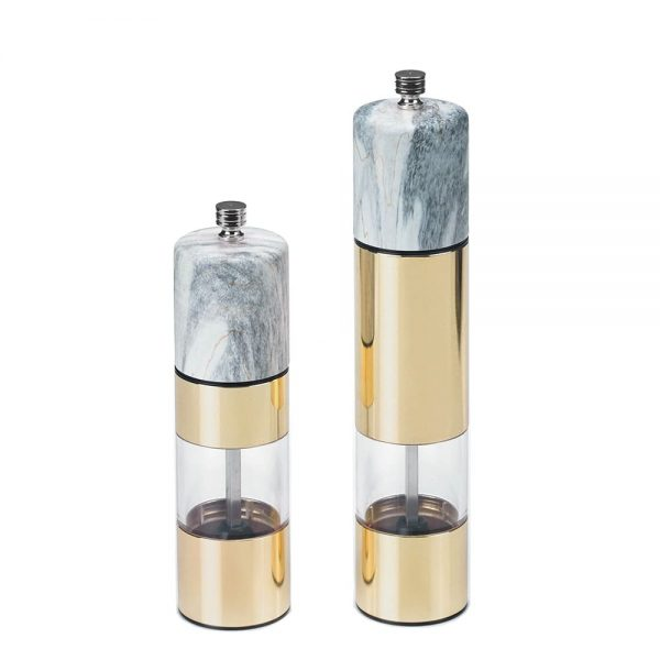 Holar - Salt And Pepper - Stainless Steel Mill - SS AC Series - SSAM-02GD - Main Photo
