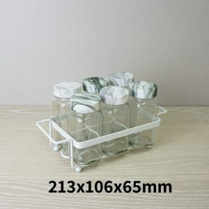 Salt and Pepper Shaker Set Holder of 6