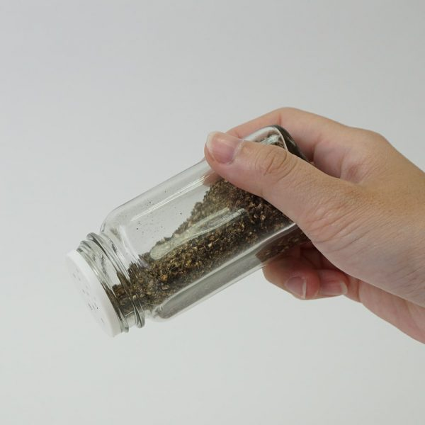 Holar - Salt and Pepper Catagory - Salt Pepper Spice Shaker Bottle - SP-06MBW Spice Jar - 4 - Hold