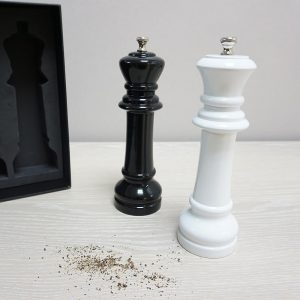 CSK/CSQ Chess Salt and Pepper Grinder Set