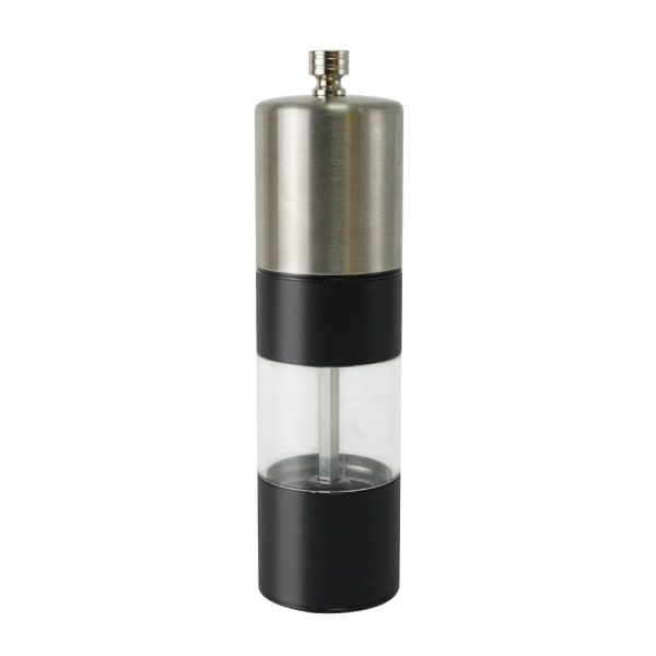 Holar black pepper grinder with stainless steel top-SSASP