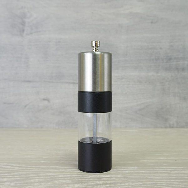 Holar combination black and metal salt and pepper grinder-SSASP