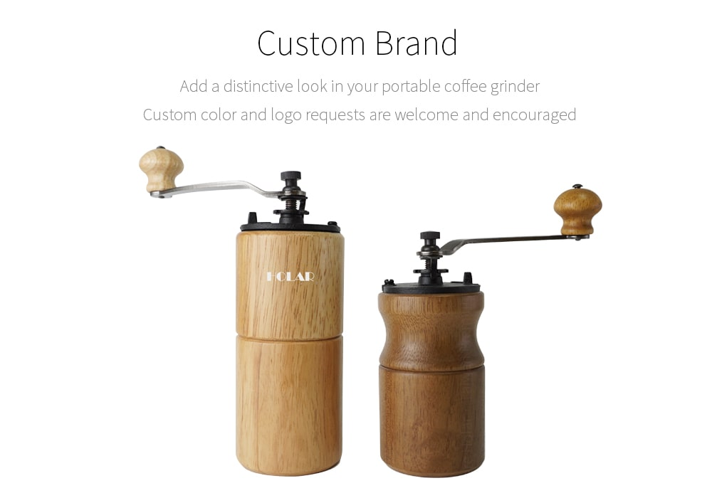 Holar customized design coffee grinders_CMA19B