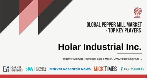 Holar from Taiwan - Salt and Pepper Mill Grinder Introduction Voice from Media Garner Insights Reports Monitor Market Research News Mick Times Fior Markets
