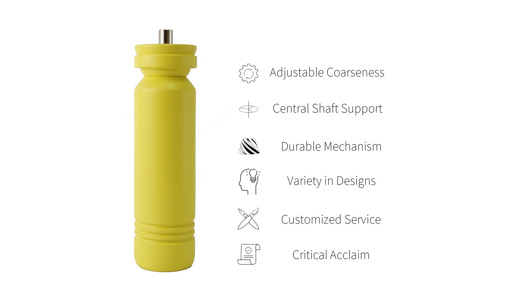 Holar nordic style salt pepper grinder features_HL-87