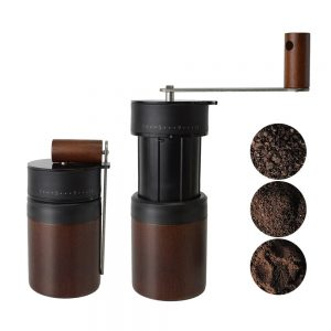 PS-CM02WDBK Expandable Manual Coffee Mill