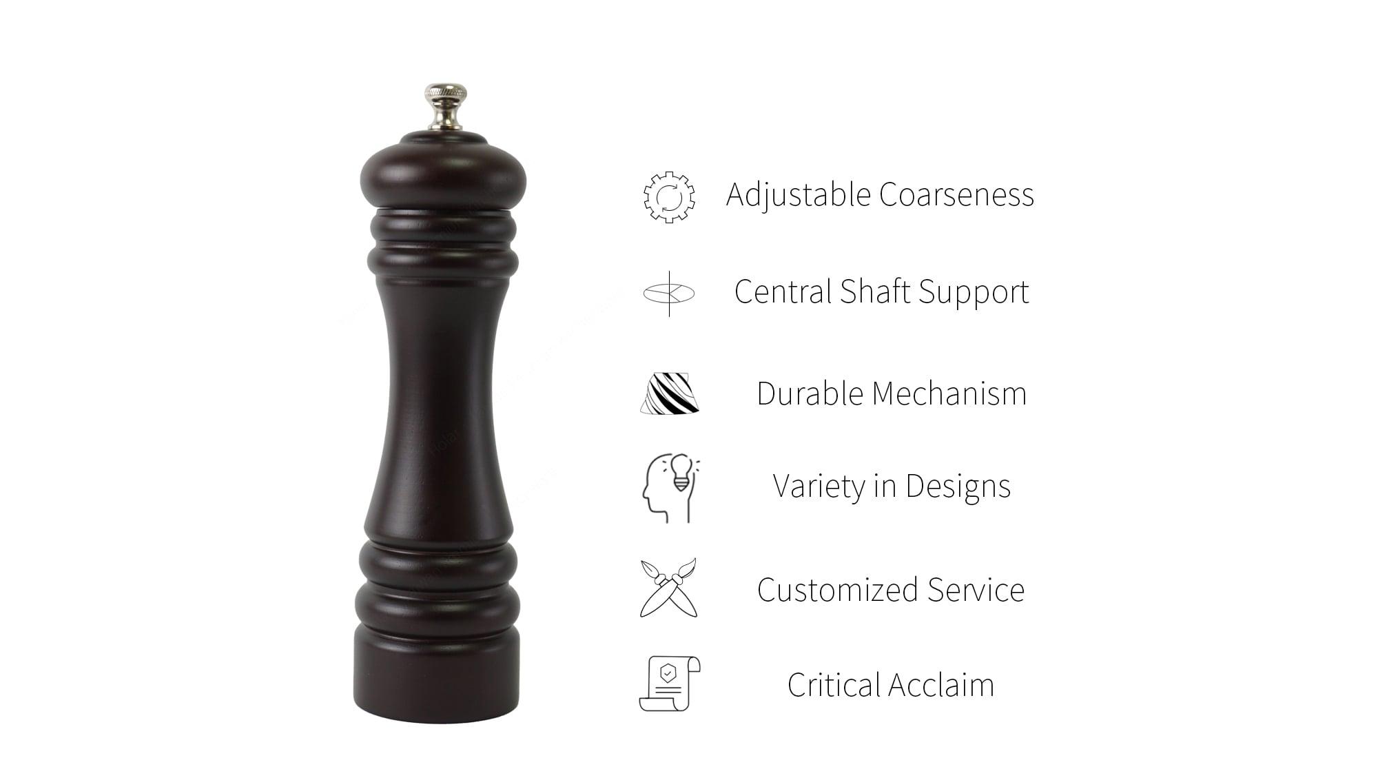 Holar wood classic salt pepper grinders feature_AL3