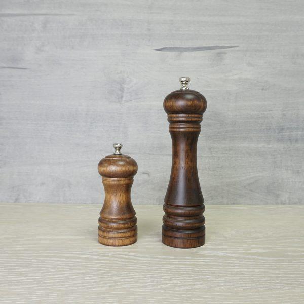 Holar wood manual salt and pepper grinder_STD
