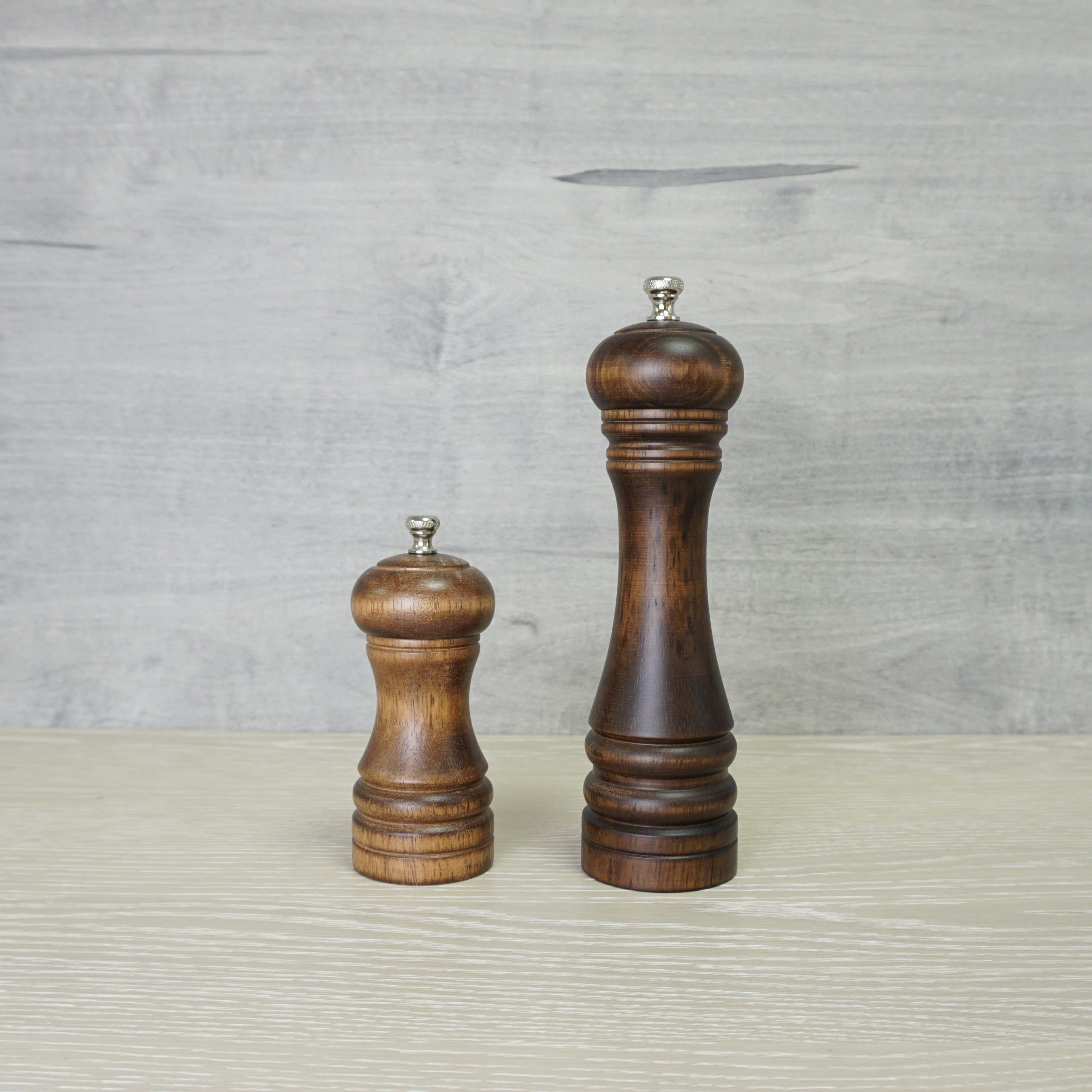 Holar wood manual salt and pepper grinder_STD