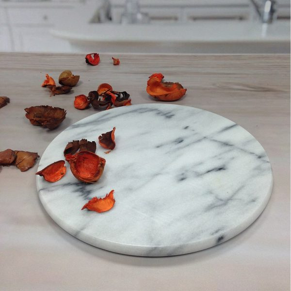 MB-07WTS Marble Serving Board for Cheese-1