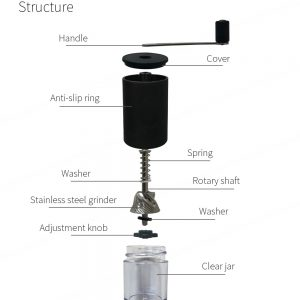PS-CM01 Portable Mini Manual Coffee Grinder