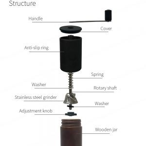 PS-CM01W Portable Mini Manual Coffee Grinder