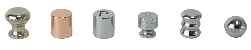 adjustable knob and custom nut of Holar salt and pepper grinder