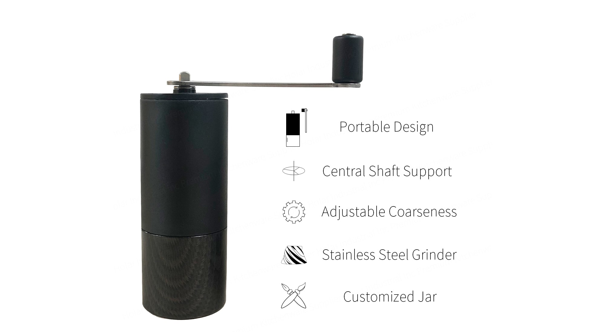 feature of Holar portable coffee mill_PS-CM01A