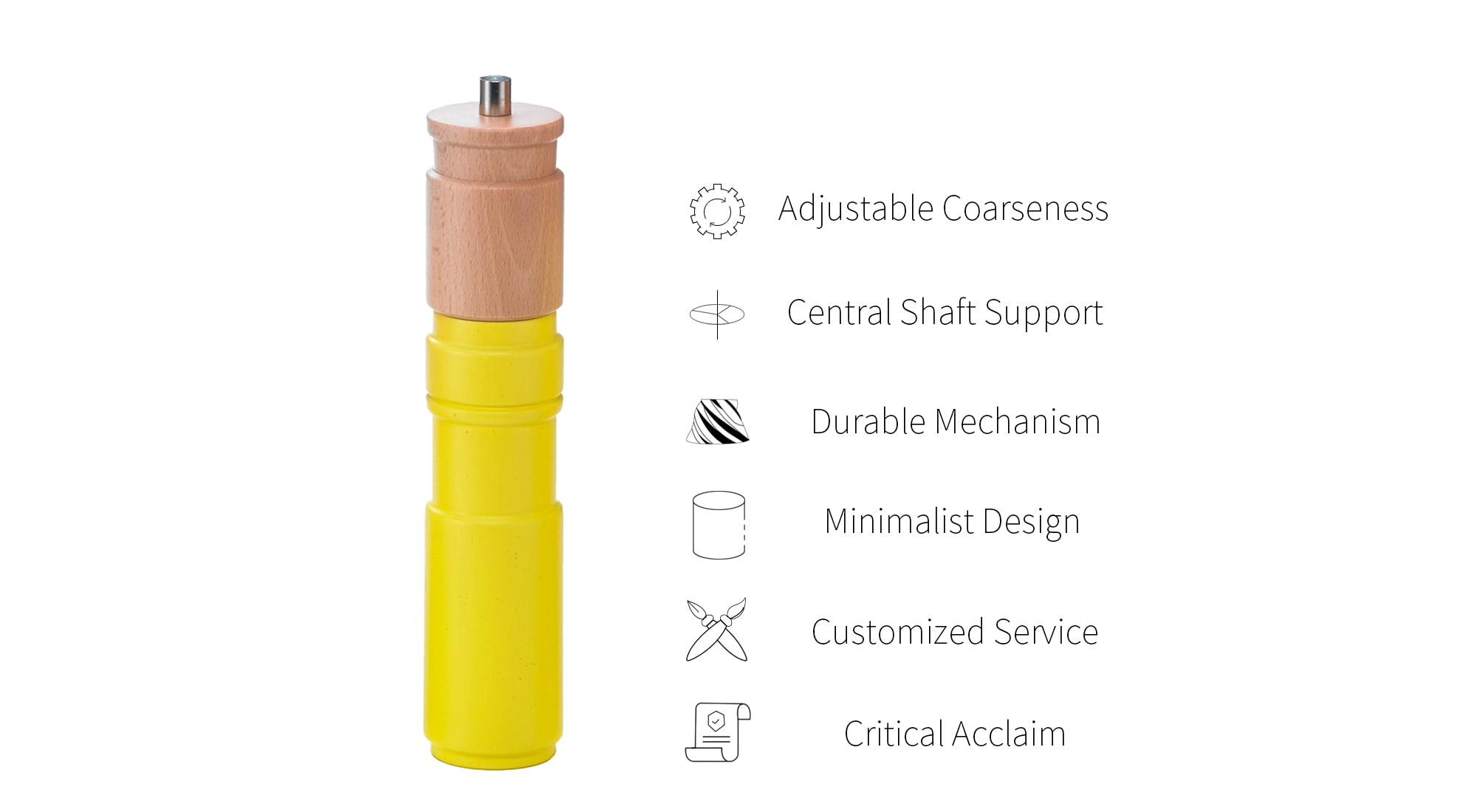 feature of holar creative salt and pepper grinder_HL-80