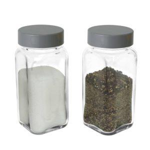 SP-06INJ Empty Spice Jars – Gray Cap