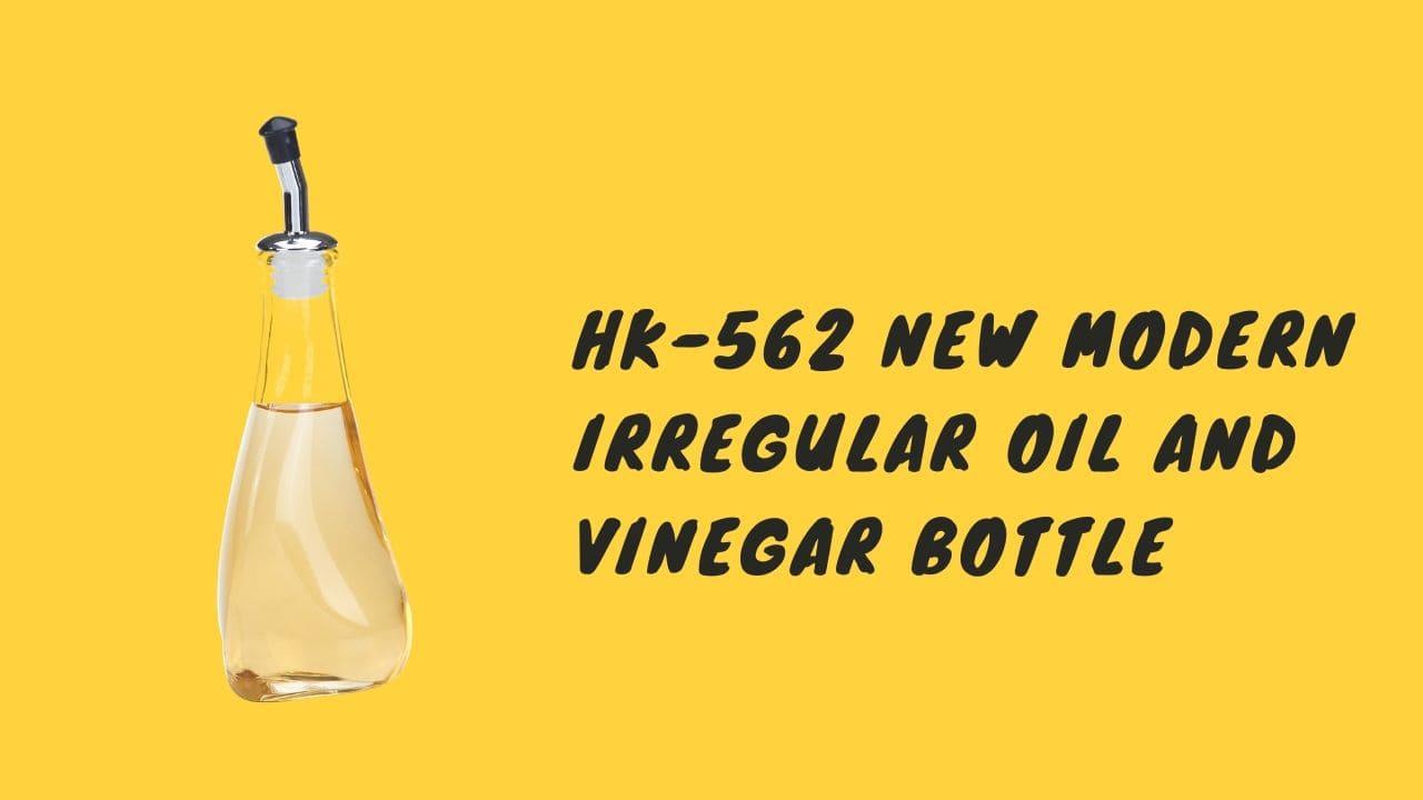 holar hk-562 new modern irregular oil and vinegar bottle