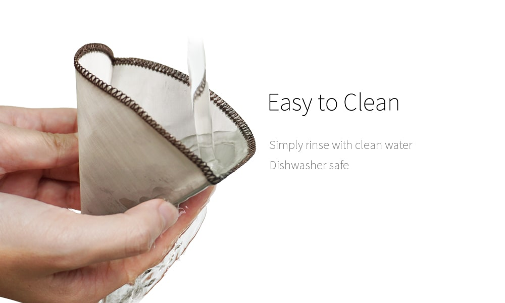 how to clean reusable coffee filter