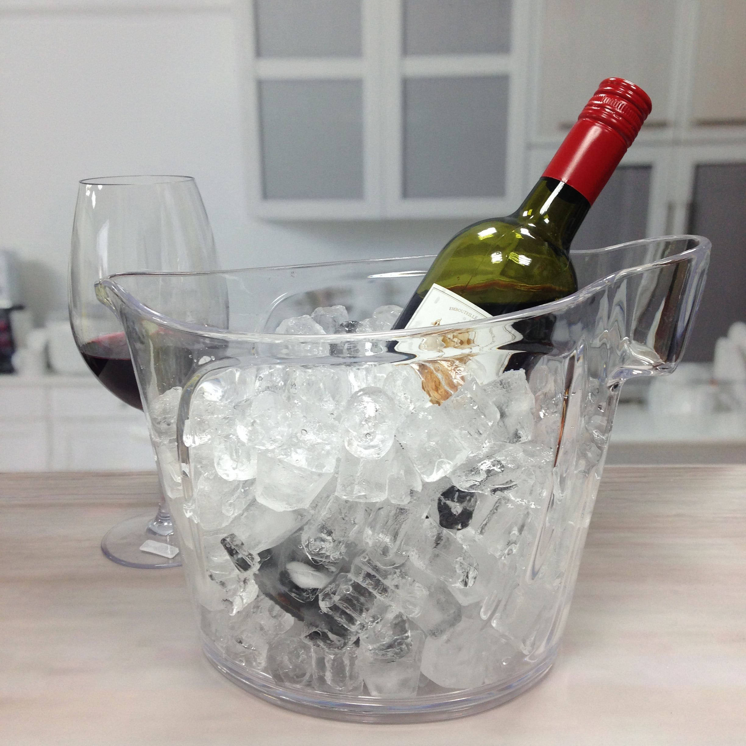 ice bucket with holder-2