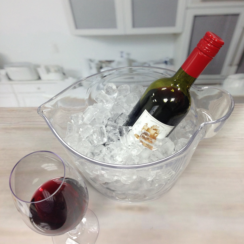 ice bucket with holder-4